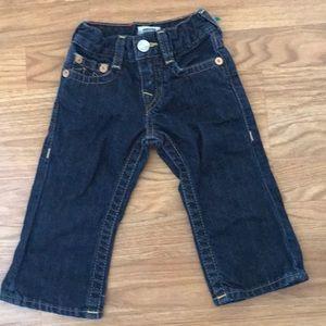 True Religion Kids Jeans Size 6-12 Months.